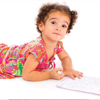 registro de nacimiento para niños